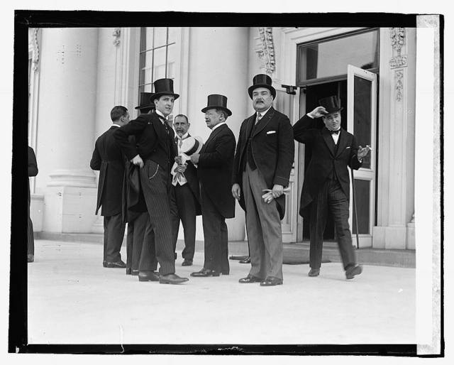 Chile Peruvian delegates at White House, 7/21/22