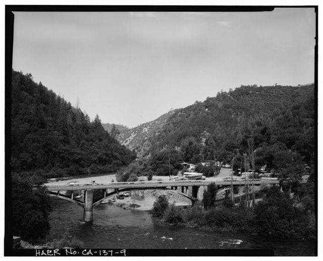 Chili Bar Bridge, Spanning South Fork of American River at State Highway 193, Placerville, El Dorado County, CA