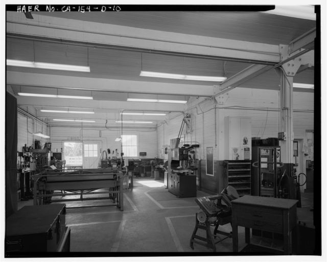 Chollas Heights Naval Radio Transmitting Facility, Public Works Shop, 6410 Zero Road, San Diego, San Diego County, CA