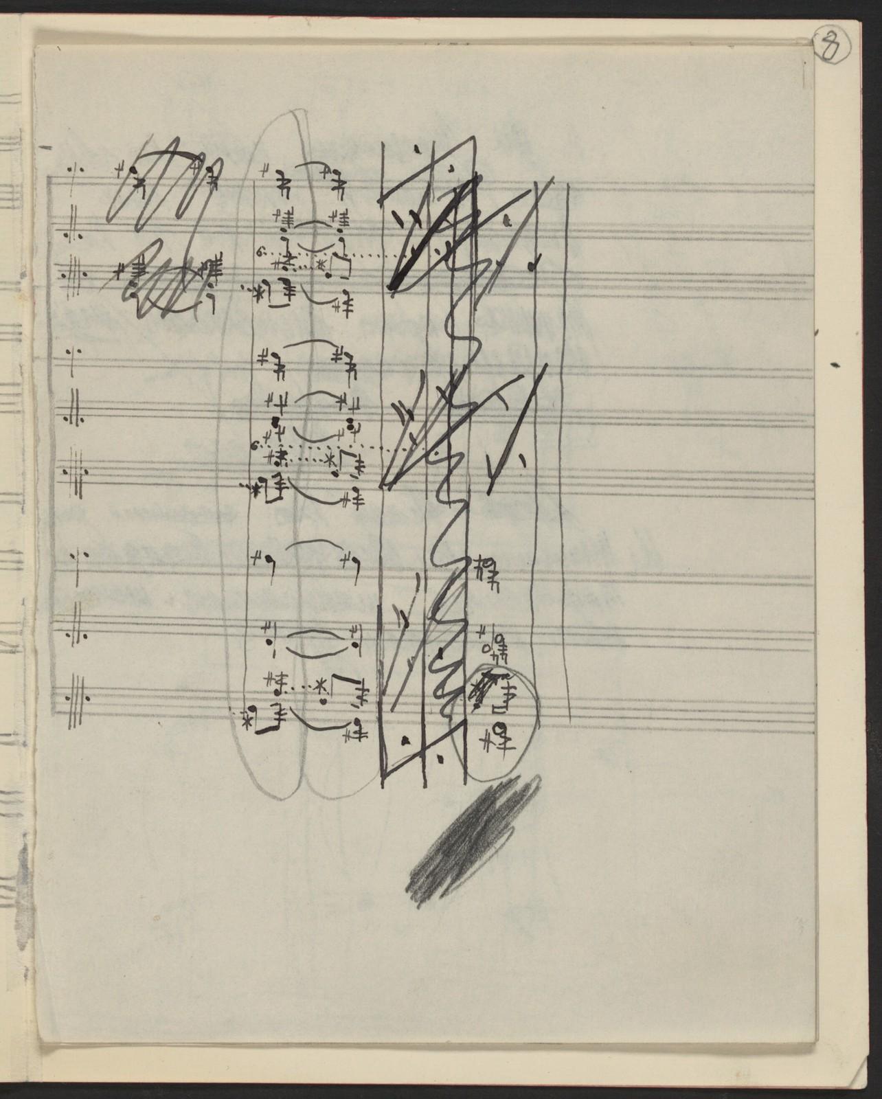 Choreographic notes, L'Après-Midi d'un Faune