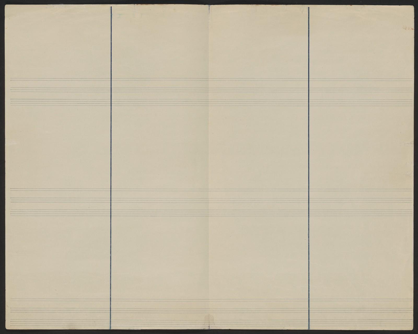 "Choreographic notes: ""Polovetsian dances / created by M.M. Fokine/ using the system by V.I. Stepanov; written down by A. Rakhmanov"""