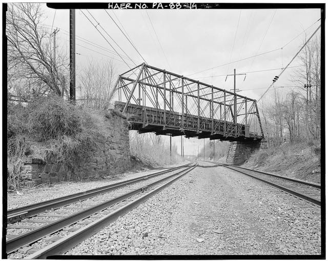 Christiana Borough Bridge, Bridge Street over Pennsylvania Railroad, Christiana, Lancaster County, PA