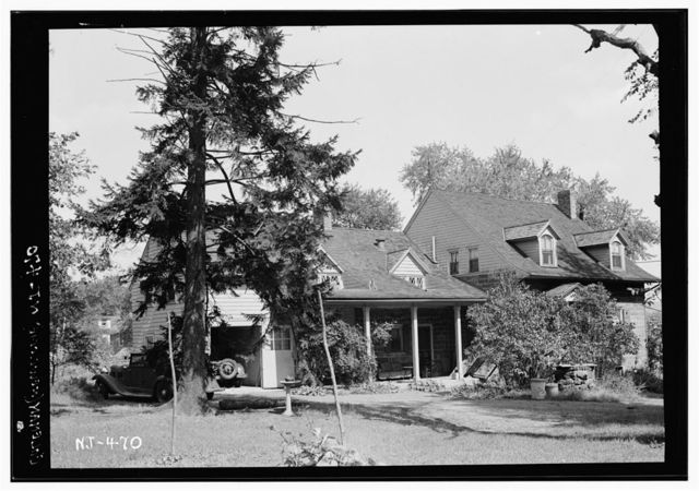 Christie-Parsils House, 195 Jefferson Avenue, Tenafly, Bergen County, NJ