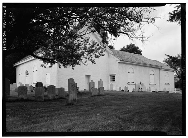 Church of St. Peter-in-the-Great Valley, Saint Peter's Road (East Whiteland Township), Devault, Chester County, PA