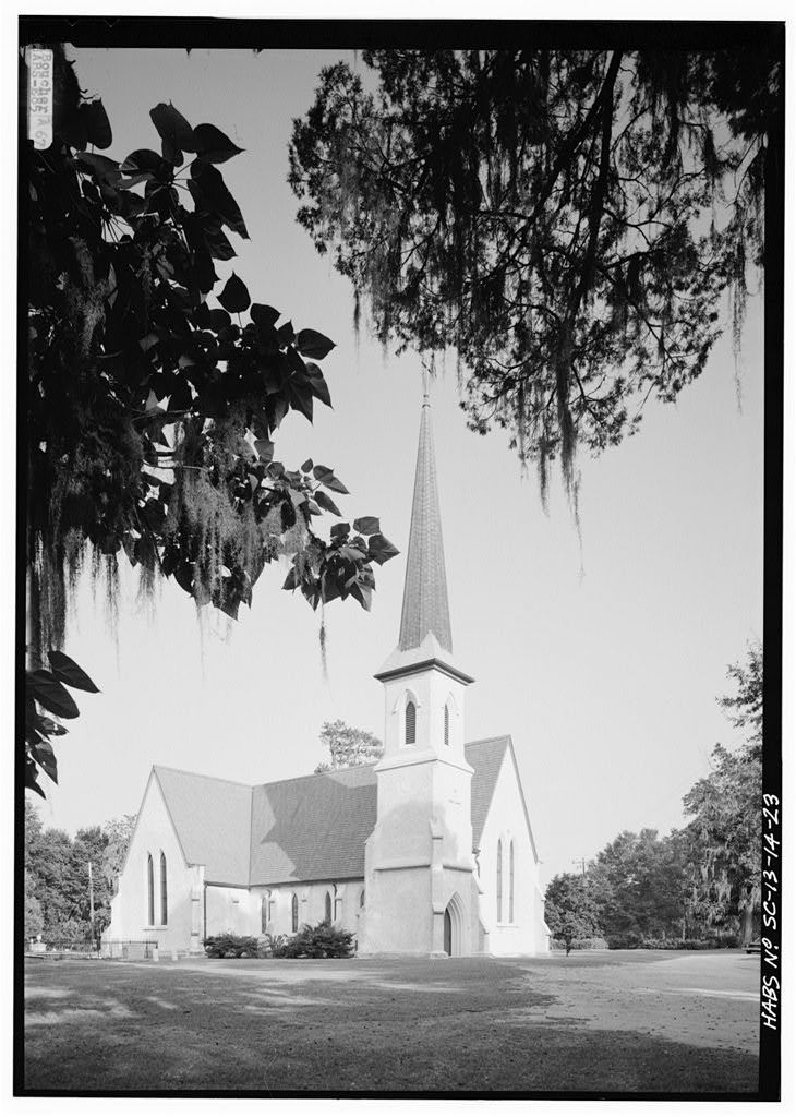Church of the Holy Cross, State Route 261, Stateburg, Sumter County, SC