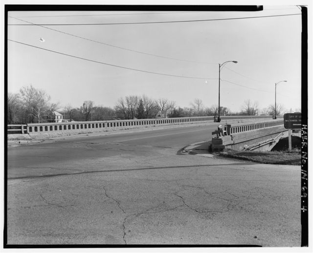 Cicott Street Bridge, Spanning Wabash River at State Road 25, Logansport, Cass County, IN