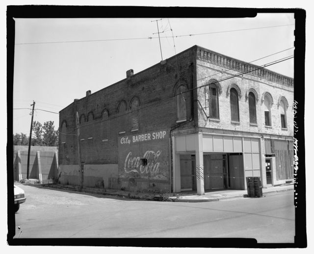City Barber Shop, 200 Block of Clinton Street, Hickman, Fulton County, KY
