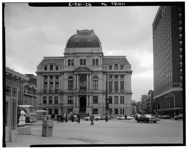 City Hall, Exchange Place, Kennedy Plaza, Providence, Providence County, RI