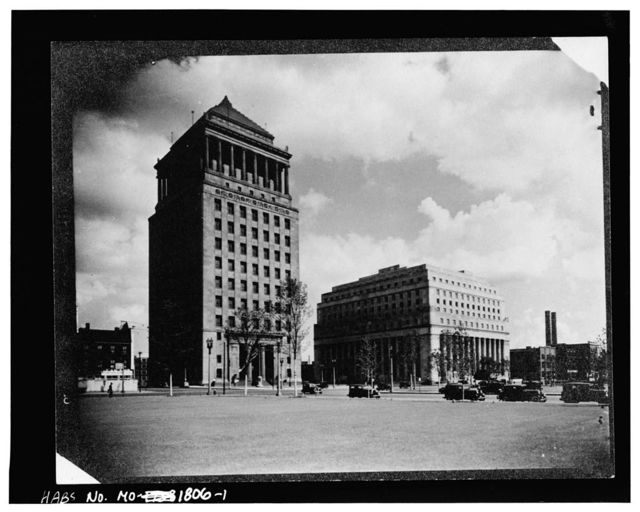 Civil Courts Building, Eleventh to Twelfth, Market to Chestnut Streets, Saint Louis, Independent City, MO