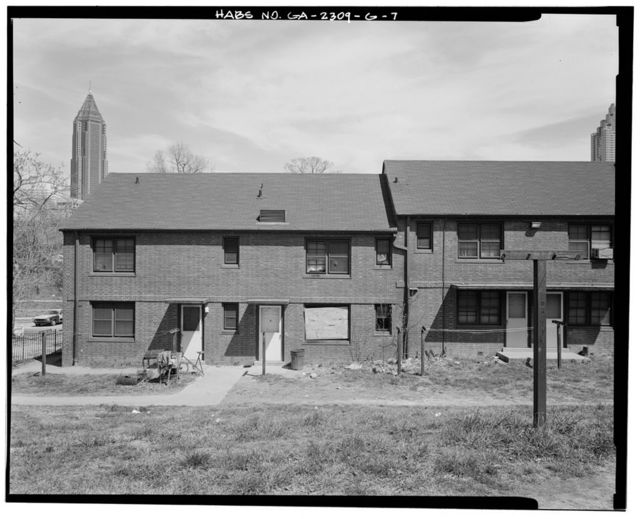 Clark Howell Homes, Building D-3, 454 Venable Street, Atlanta, Fulton County, GA