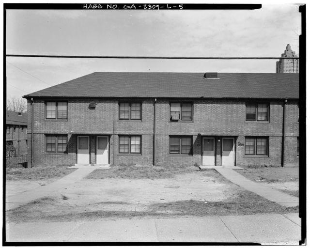 Clark Howell Homes, Building I-2, 222 Hunnicutt Street, Atlanta, Fulton County, GA