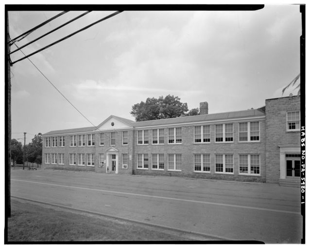 Claysburg High School, Bedford Street, Claysburg, Blair County, PA
