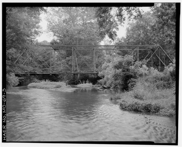 Clear Creek Bridge, Spanning Clear Creek at County Road 312, Ritchey, Newton County, MO