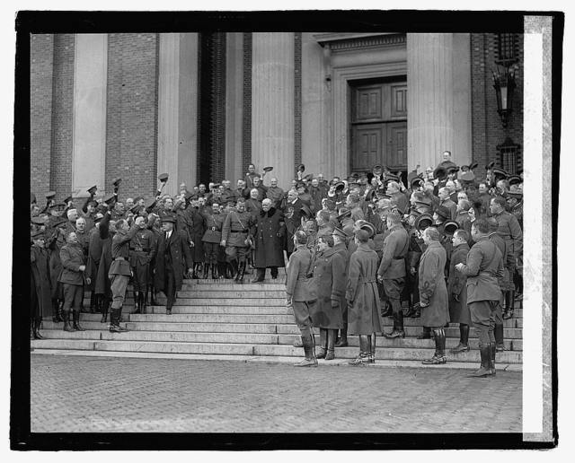 Clemenceau at War College, 12/6/22