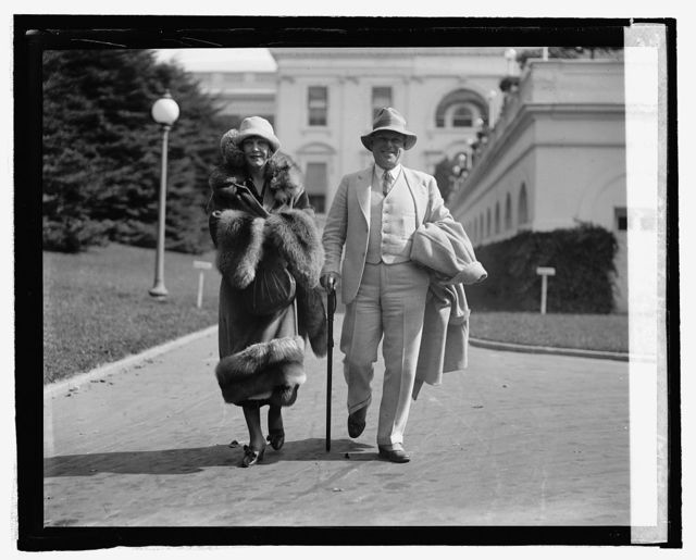 Cleo Mayfield & Cecil Lean at White House, 10/15/24