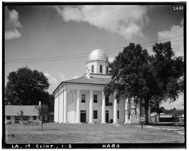 Clinton Courthouse, Saint Helena Street, Clinton, East Feliciana Parish, LA