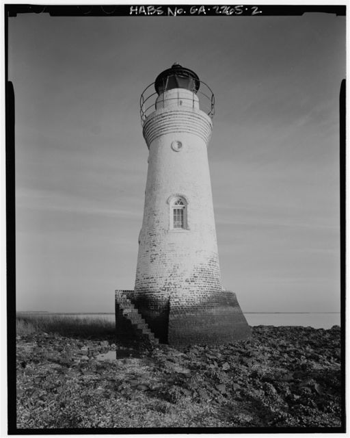 Cockspur Lighthouse, Cockspur Island, Savannah River, Savannah, Chatham County, GA
