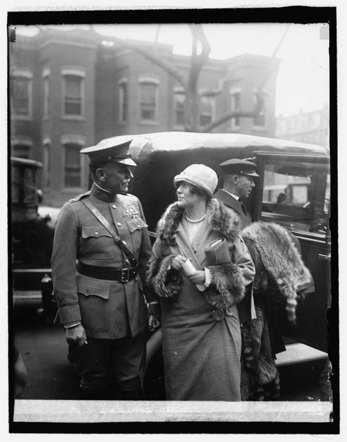 Col. Blanton Winship & Mrs. Douglas MacArthur, 10/28/25