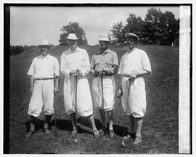 Col. C.H. Bridges, Gen'l J.L. Hines, Brig. Gen'l Mahlon Craig, Col. A.E. Saxon, 8/2/26