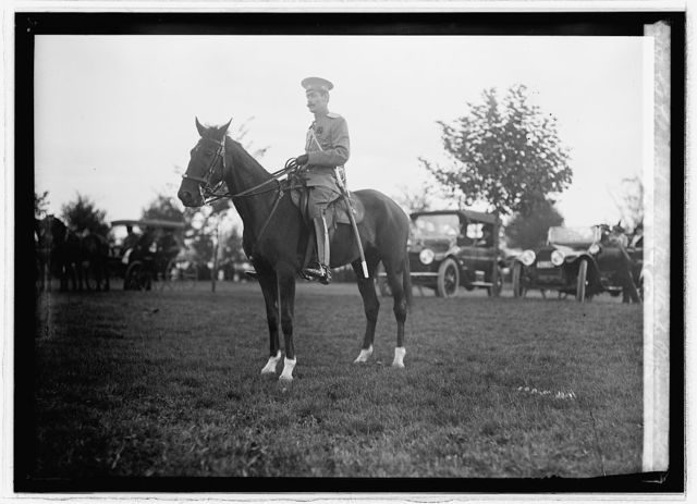 Col. Colyewsky, military attache, Russian Legation, Oct. 9/13