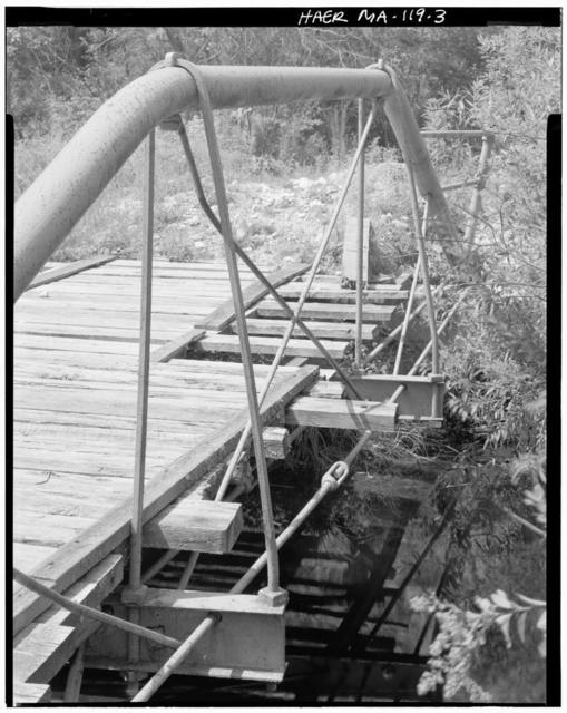 Coleman Bridge, Spanning Phelps Brook, on Windsor Bush Road, at eastern edge of  Windsor State Forest, Windsor, Berkshire County, MA