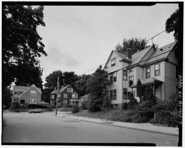 College Hill, Bounded roughly by Olney, Hope, Governor Streets, & Seekonk & Providence Rivers, Providence, Providence County, RI