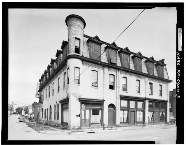 Colombe Hotel, South Sixth Street at Bullitt Avenue, Jeannette, Westmoreland County, PA