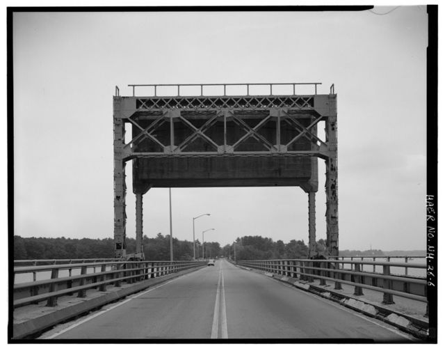 Colonel Alexander Scammell Memorial Bridge, Spanning Bellamy River at U.S. Route 4, Dover, Strafford County, NH
