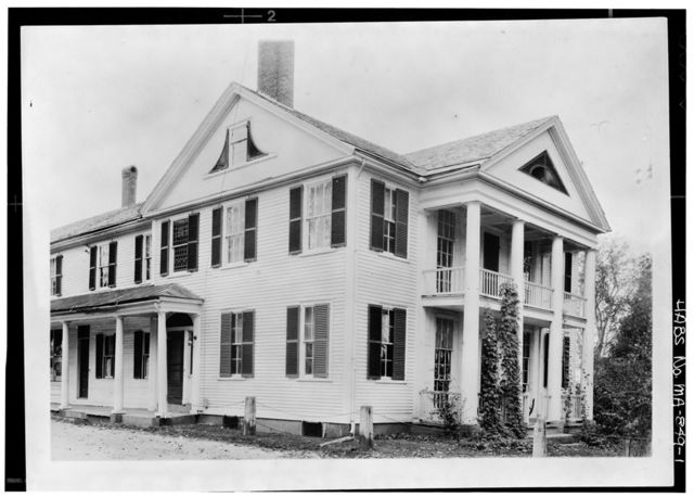 Colonel Artemus Lee House, Templeton Common, Templeton, Worcester County, MA