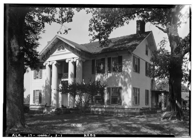 Colonel Goodloe House, Tuscumbia, Colbert County, AL
