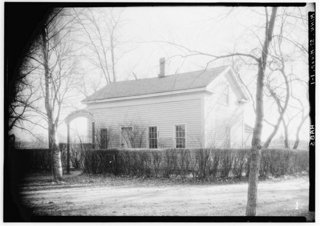 Colonel J. H. Stevens House, Minnehaha Park (moved from Ferry Farm, Mississippi River), Minneapolis, Hennepin County, MN