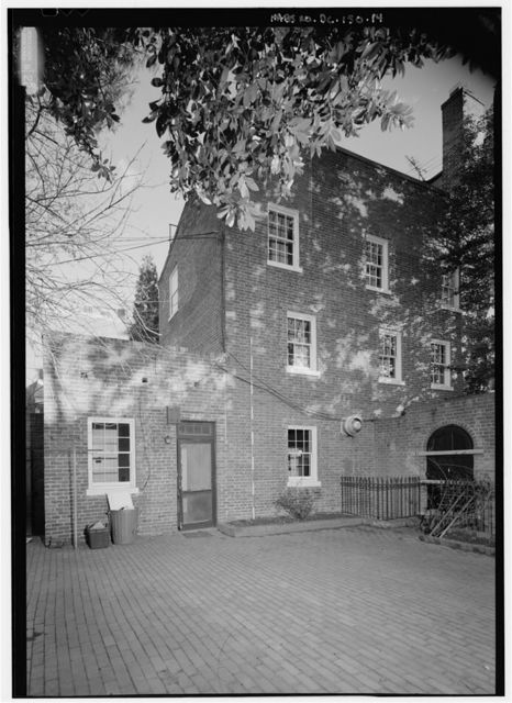 Colonel John Cox House, 3339 N Street, Northwest, Washington, District of Columbia, DC