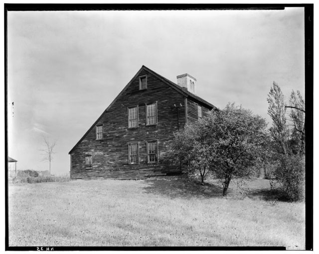 Colonel Paul Wentworth House, Dover Street (moved to MA, Dover), Dover, Strafford County, NH