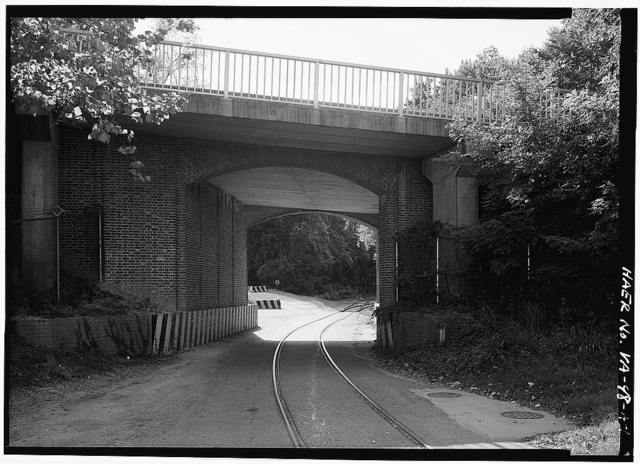 Colonial Parkway, Navy Mine Depot, Spanning Naval Weapons Road, Yorktown, York County, VA