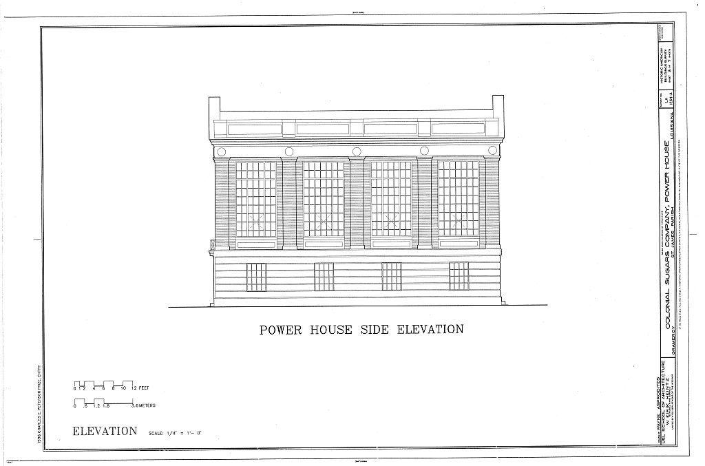 Colonial Sugars Company, Power House, Gramercy, St. James Parish, LA