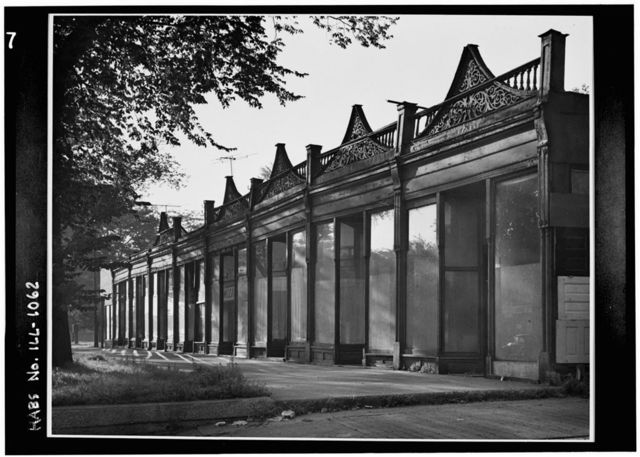 Columbian Exposition Store Buildings, East Fifty-seventh Boulevard & Stony Island Avenue, Chicago, Cook County, IL