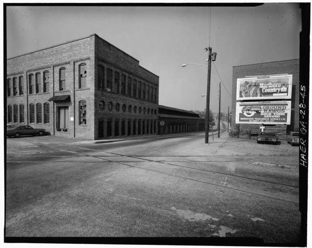 Columbus Iron Works, Front Avenue between Eighth & Tenth Streets, Columbus, Muscogee County, GA
