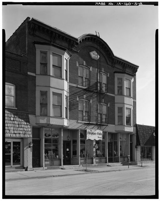 Commercial & Industrial Buildings, Bell Block, 470 Central Avenue, Dubuque, Dubuque County, IA