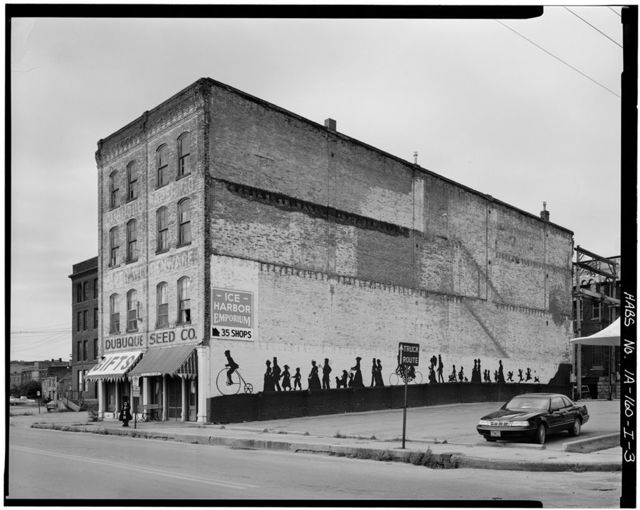 Commercial & Industrial Buildings, Dubuque Seed Company Warehouse, 169-171 Iowa Street, Dubuque, Dubuque County, IA