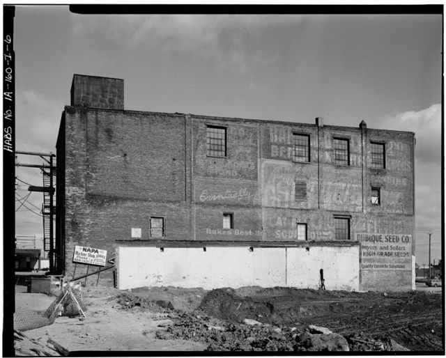 Commercial & Industrial Buildings, Dubuque Seed Company Warehouse, 169-171 Iowa Street, Dubuque, Dubuque County, IA