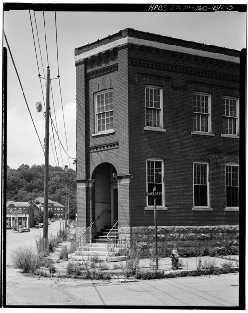 Commercial & Industrial Buildings, Dubuque Water Company Pumphouse, Eighth & Pine Streets, Dubuque, Dubuque County, IA
