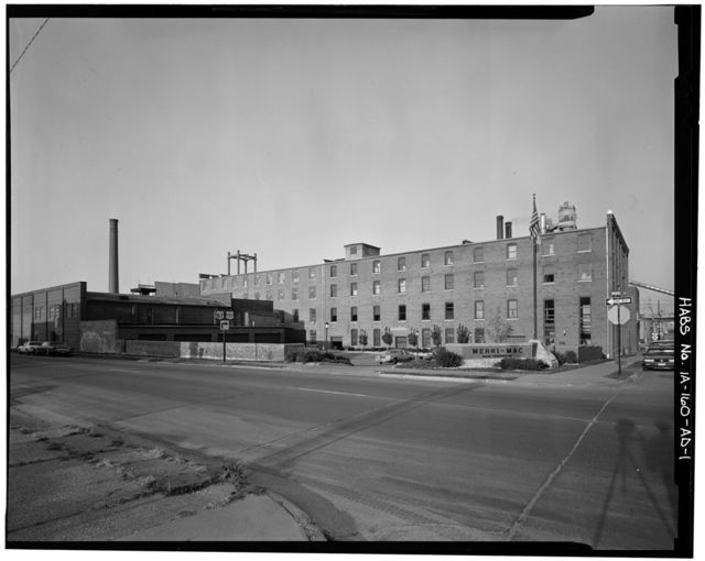 Commercial & Industrial Buildings, Farley & Loetscher Manufacturin Company, Factory I, 810 Jackson Street, Dubuque, Dubuque County, IA