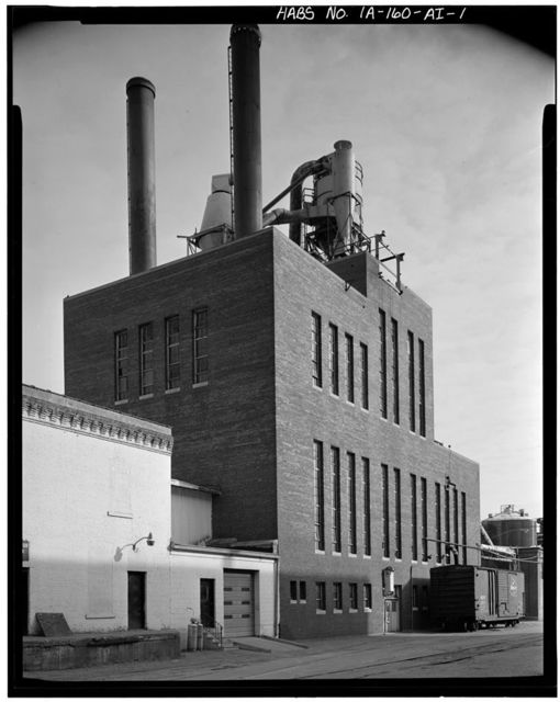Commercial & Industrial Buildings, Farley & Loetscher Manufacturing Company, Powerhouse, Eighth & Jackson Streets, Dubuque, Dubuque County, IA