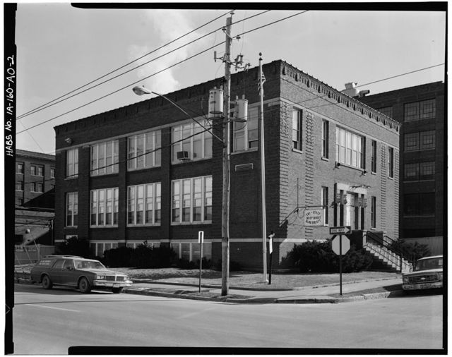 Commercial & Industrial Buildings, Herancourt Furniture Company Factory, 1100 Elm Street, Dubuque, Dubuque County, IA