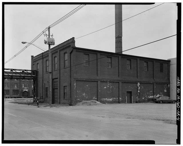 Commercial & Industrial Buildings, Iowa Iron Works Blacksmith Shop, Ninth & Washington Streets, Dubuque, Dubuque County, IA