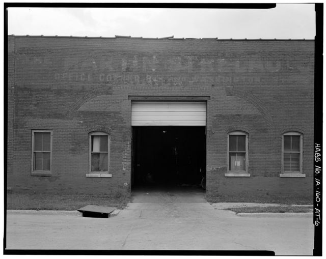 Commercial & Industrial Buildings, Key City Electric Street Railroad, Powerhouse & Storage Barn, Eighth & Washington Streets, Dubuque, Dubuque County, IA