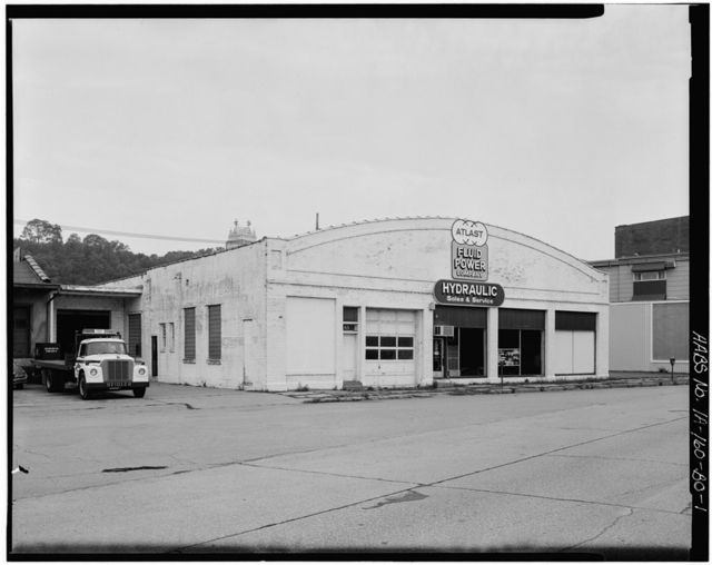 Commercial & Industrial Buildings, Peter Even & Son Auto Company Showroom, 65 Main Street, Dubuque, Dubuque County, IA