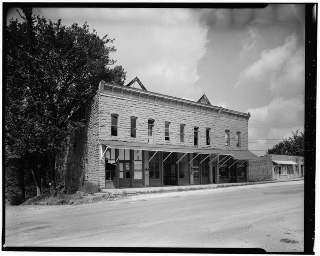 Commercial Block, Main & First Streets, Roscoe, St. Clair County, MO