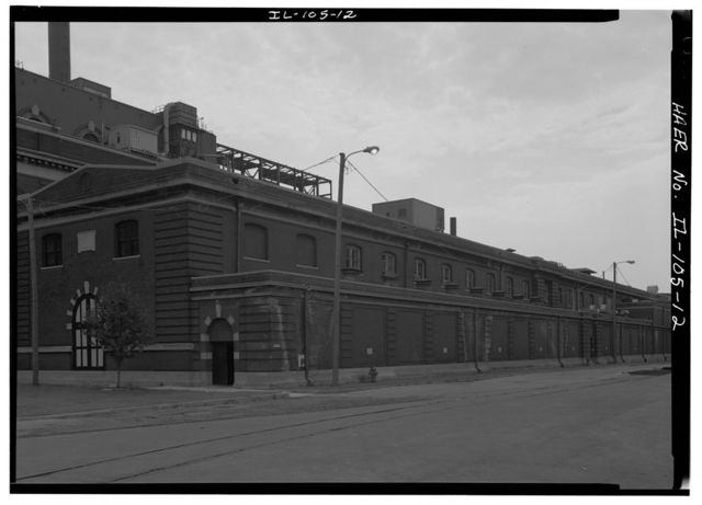 Commonwealth Electric Company, Fisk Street Electrical Generating Station, 1111 West Cermak Avenue, Chicago, Cook County, IL