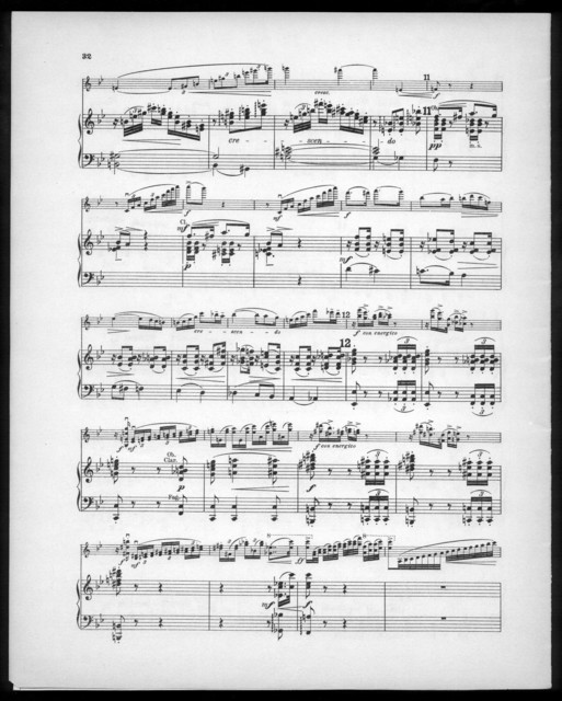 Concert für die Violine, op. 30